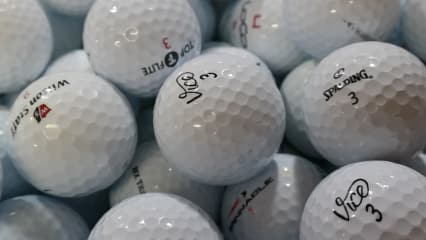 Gebrauchte Golfbälle Lakeballs ab 9 Cent