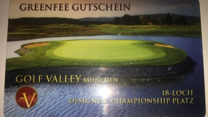 15 x Greenfee Golf Valley München