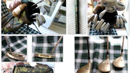 Golfset-Herren-Mizuno + Golf Planner-Titan/Graphit + PING Putter
