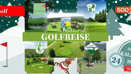 Adventskalender 2017 Türchen 24 mit 500 Prozent Golf