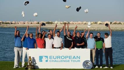 Am Ziel der Träume - Für diese 15 geht's auf die European Tour