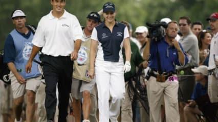 Abschlag neben Sergio, Tiger & Co: Eine Frau auf der PGA Tour