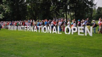 Deutsches Heimspiel bei der BMW International Open - Tag 1