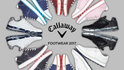 Callaway Golfschuh Kollektion 2017 - Robust, kompakt und geschmeidig