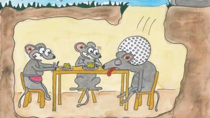 Zum Schreien komisch: Cartoons für Golfer
