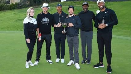 Staraufgebot in Kalifornien - Tiger Woods lud zum Celebrity Cup