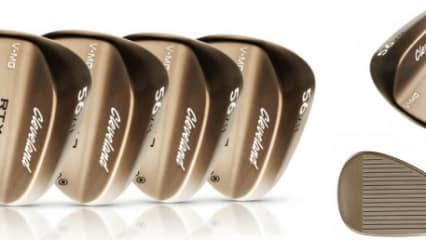 Clevelands neue RTX 3 Raw Finish Wedges