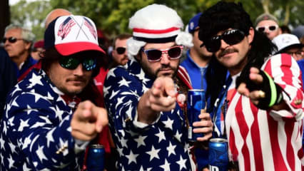 Das Duell der Kostüme - Die schönsten Outfits vom Ryder Cup 2016