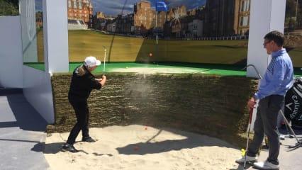 Das war die Allianz Road-Hole-Bunker-Challenge mit der Golf Post Community