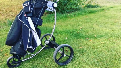 Der GolfQuant 3E Elektro-Trolley im Golf Post Test