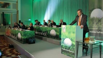 Gipfeltreffen beim DGV-Verbandstag 2014