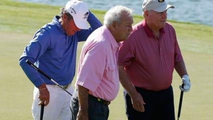 Zahltag...! Die bestverdienenden Golfer im Ruhestand
