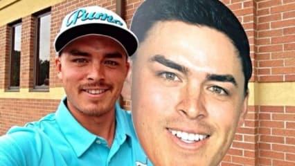 Golf-Stars sehen doppelt: Die Twitterbilder der Woche