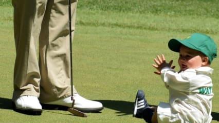 Die Kids der Golfprofis