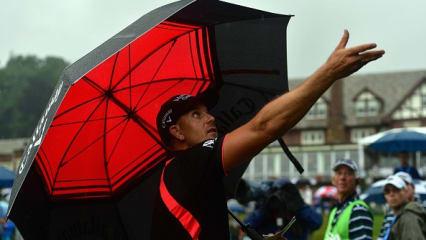 Die Regenfestspiele der PGA Championship an Tag 4