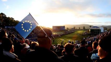 Samstag, Sonne, Sonnenschein - Golfer was willst du mehr?