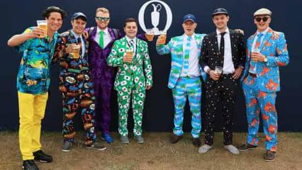 Farbenfrohe Fans und fantastische Bedingungen - Tag 3 der Open Championship 2018
