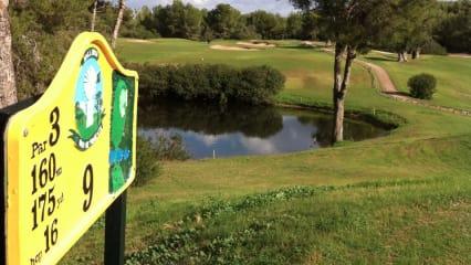 Golf Club de Poniente - Kurs mit Siebziger-Charme