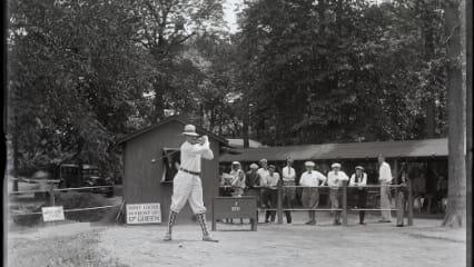 Golf in den 20er und 30er Jahren