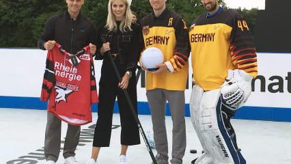 Golf meets Hockey - Martin Kaymer gegen Olympia-Medaillisten