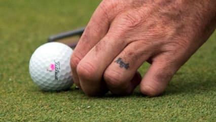 Golf-Tattoos: Dieser Sport geht unter die Haut