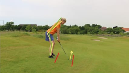 Golf Training: Spielen in Hanglagen