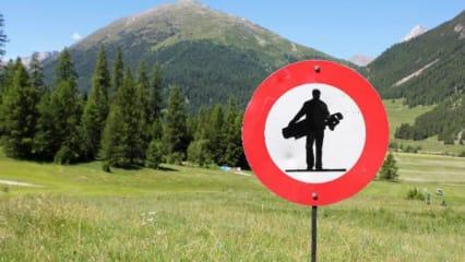 Golfen in St. Moritz - Zwischen Luxushotels und Alpen-Panorama