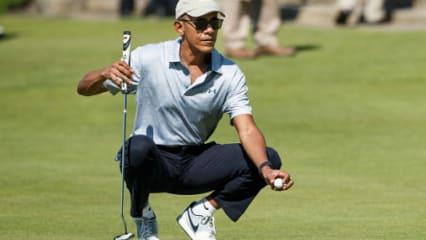 Barack-Obama-Golf