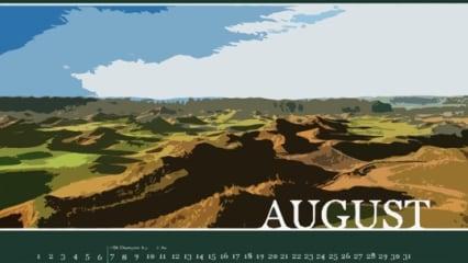 Golfkalender 2014 Vorschaubilder