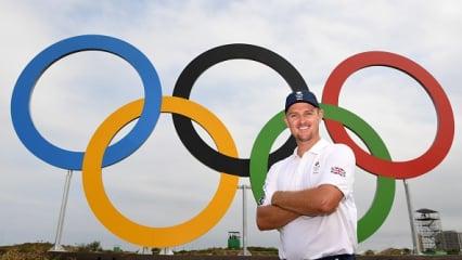 Stolze Botschafter der fünf Ringe - Golfer feiern Olympia