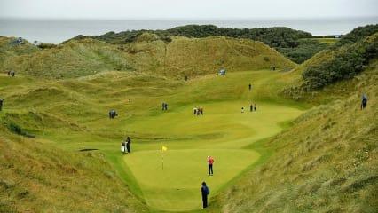 Küste, Stürme, Grün - die Irish Open