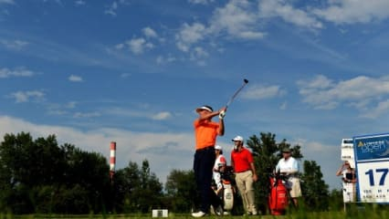Lyoness Open: Nächste Sektdusche für Wiesberger?