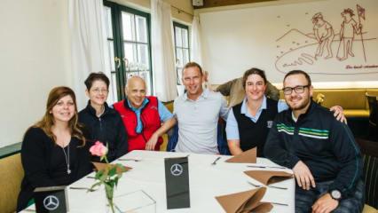 Marcel Siem – Mercedes-Benz After Work Golf Cup