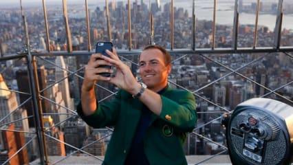 Masters-Champion unterwegs: Jordan Spieth ist schwer gefragt