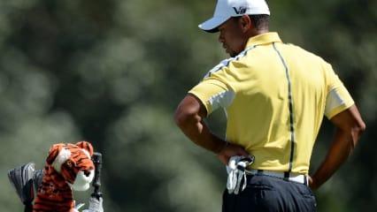 Der zweite Tag beim US Masters in Augusta in Bildern