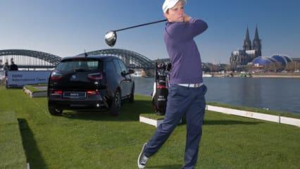 Maximilian Kieffer als Werbegesicht der BMW International Open