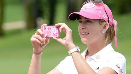 Auch im Herbst wird in der Golf Post App trainiert