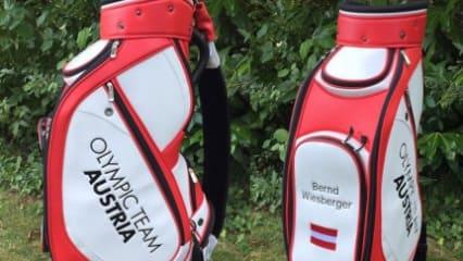 Golfbag Bernd Wiesberger