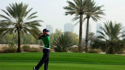 Erster Tag der Omega Dubai Desert Classic in Bildern