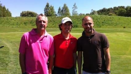 Pep Guardiola - Der neue Bayern Trainer spielt Golf