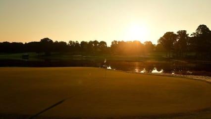 PGA Championship 2017 Quail Hollow Sonnenaufgang