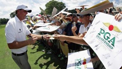 Verbales Einschlagen - die besten Aussagen im Vorfeld der PGA Championship