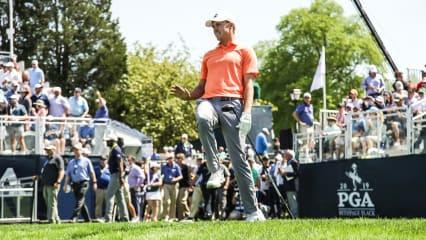 PGA Championship: Grimassen am Moving Day