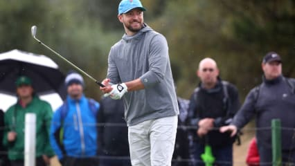 Promis bei der Alfred Dunhill Links Championship 2019
