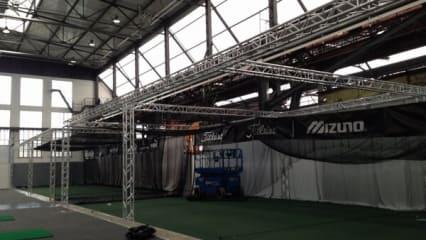 Rheingolf 2013 - Bilder vom Aufbau