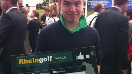Rheingolf 2013 - Zweiter Tag Social Media Caddy