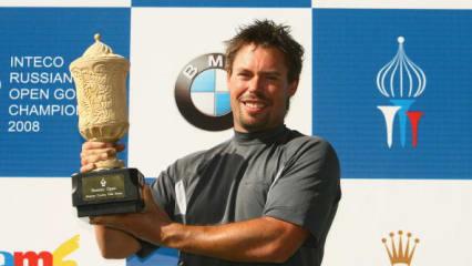 Moritz Lampert bei der Russian Open - Bilder des Turniers