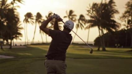 Die schönsten Sonnenuntergänge auf dem Golfplatz