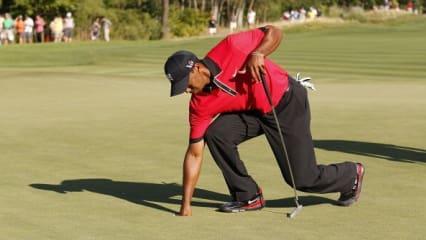 Tiger Woods' Verletzungsgeschichte