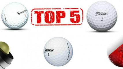 Top-5 Golfbälle der Saison 2017